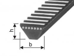 Klínový řemen 3M 690 La optibelt WR